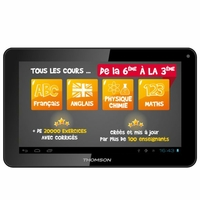 "Tablette tactile éducative THOMSON TEO-QD10BK8E 10,1"" Noire"