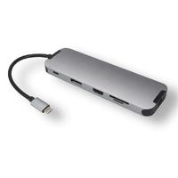 Station d'accueil MCL Multi-ports USB-C 10en1 HDMI DP