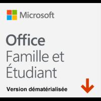 MICROSOFT Office 2019 Famille et Etudiant 1 an (Dém)
