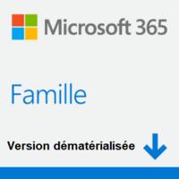 MICROSOFT Office 365 Famille 1 an (Dém)