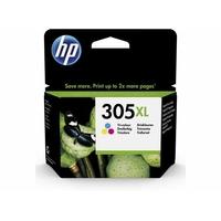 Cartouche d'encre HP 305 XL Trois couleurs