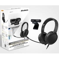 Pack télétravail AVERMEDIA BO317 webcam + casque