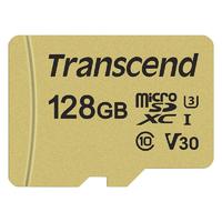 Micro SDXC TRANSCEND 500S 128 Go Class10 V30