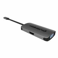 Adaptateur VOLKANO USB-C vers VGA et HDMI 4K