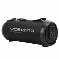 Enceinte nomade VOLKANO Mamba Series Bluetooth Noire