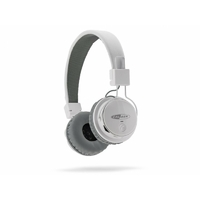 Casque micro CALIBER MAC501BT Bluetooth Blanc