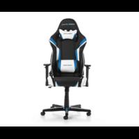 Siège Gaming DXRACER Racing R288-NBW Noir Bleu Blanc