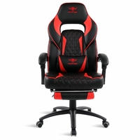 Fauteuil Gaming SOG Mustang Noir Rouge