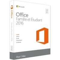 Microsoft Office Famille et Etudiant 2016 pour Mac (Boîte)