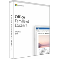 Microsoft Office Famille & Etudiant 2019 (Boite)