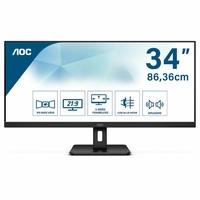 """Ecran Pc AOC Q34E2A 34"""" HDMI DP"""