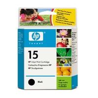 Cartouche d'encre HP 15 XL Noir