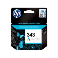 Cartouche d'encre HP 343 Trois couleurs