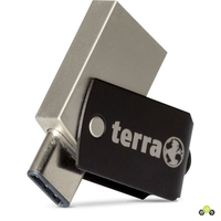Clé USB 3.0 et USB-C TERRA USThree A+C 64 Go