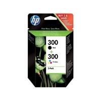 Cartouche d'encre HP 300 Pack Noir et Couleurs