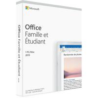 Microsoft Office Famille et Etudiant 2019 pour PC et Mac (Boîte)