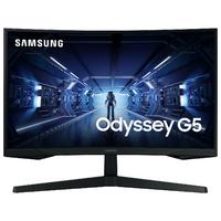 """Ecran Pc SAMSUNG Odyssey G5 C27G55TQWU 27"""" HDMI DP"""