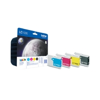 Cartouche d'encre BROTHER LC1000VALBP Multipack