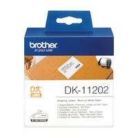 Rouleau d'étiquettes d'expédition BROTHER DK-11202 62x100mm
