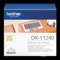 Rouleau d'étiquettes BROTHER DK-11240 102x51mm