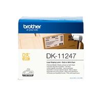 Rouleau d'étiquettes BROTHER DK-11247 103x164mm