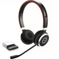 Casque micro JABRA Evolve 65 USB UC Duo Bluetooth