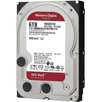 "HDD 3,5"" WESTERN DIGITAL NASware WD60EFAX 6 To"