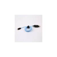 Câble APM USB vers Micro USB LED Bleu 1m