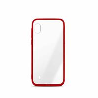 Coque semi-rigide MOOOV Color Edge pour Samsung A10 Rouge
