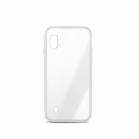 Coque semi-rigide MOOOV Color Edge pour Samsung A10 Blanc