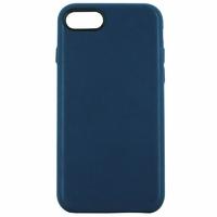 Coque en cuir MOOOV pour iPhone 7+ et 8+ Bleu