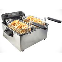 Friteuse électrique SENYA cuve amovible 6L Family Fryer