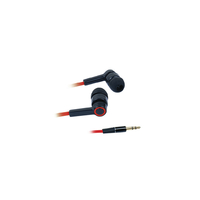 Casque intra auriculaire APM Filaire Rouge