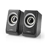 Haut-parleurs 2.0 NEDIS CSPR20020BK