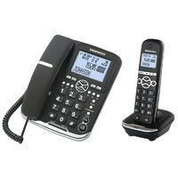 Téléphone fixe filaire + DECT DAEWOO DTD-5500 Combo