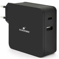 Chargeur universel USB-C BLUESTORK NB-PW-65-C 65W