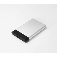 "Boitier HDD SSD 2.5"" WE CONNECT USB 3.0 Noir Argent"