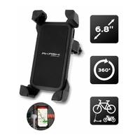 Support vélo trottinette AKASHI pour smartphone 6,8