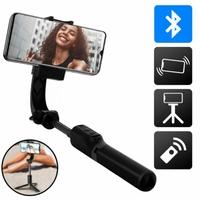 Perche selfie 3en1 AKASHI Bluetooth avec stabilisateur