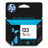 Cartouche d'encre HP 123 Trois couleurs