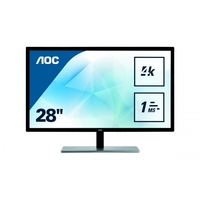 "Ecran Pc AOC Gaming U2879VF 28"" 4K VGA DVI HDMI DP"