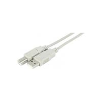 Câble USB 2.0 Type A/B 3m Gris