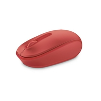 Souris MICROSOFT Wireless Mobile 1850 Sans Fil Rouge
