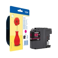 Cartouche d'encre BROTHER LC121M Magenta