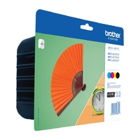 Cartouche d'encre BROTHER LC129XLVALBP Multipack