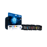 Cartouche d'encre BROTHER LC1280XLVALBP Multipack