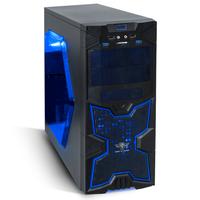 Boîtier ATX/mATX SOG X-Fighters 41 Bleu