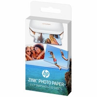 Papier Photo Adhésif HP ZINK pour Sprocket 20f