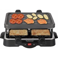 Raclette grill TECHWOOD TRA-44 4 Pers 500W