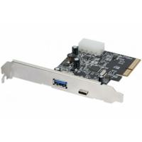 Carte contrôleur USB 3.0 Type A et 3.1 Type-C PCIe